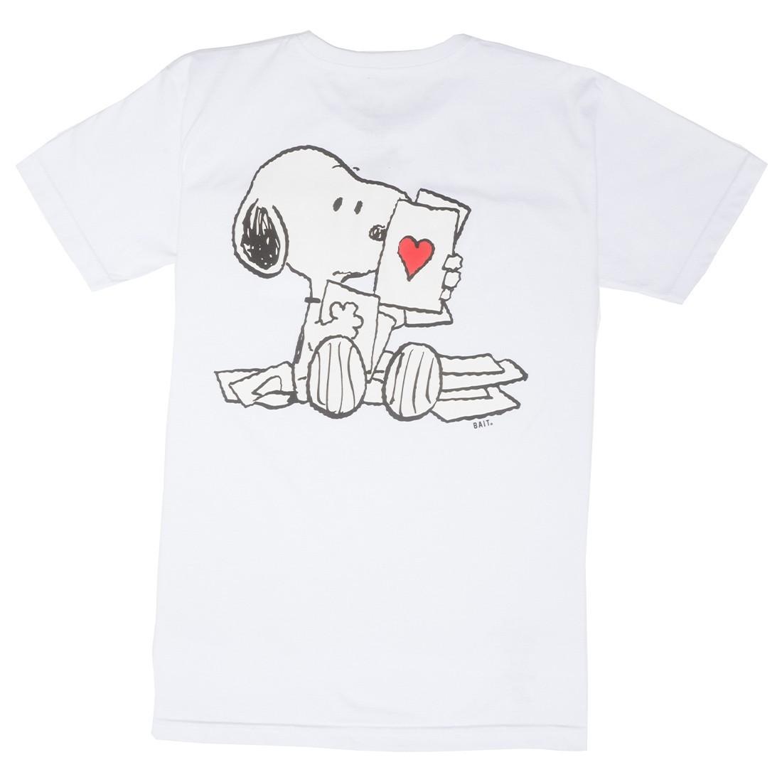 BAIT x Snoopy Men Lots Of Love Tee (white)