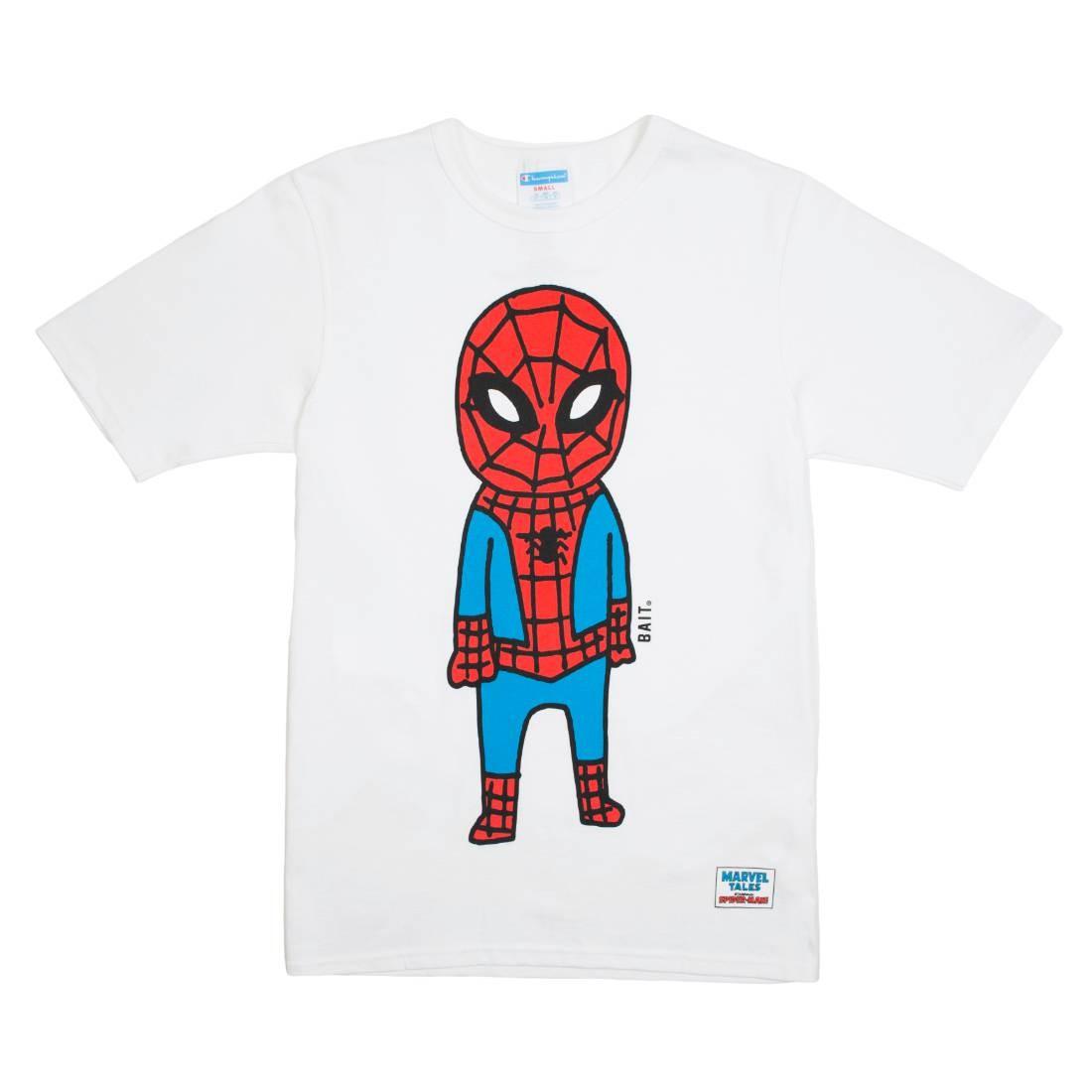 BAIT x Spiderman x Champion Men Spiderman Doodle Tee (white)