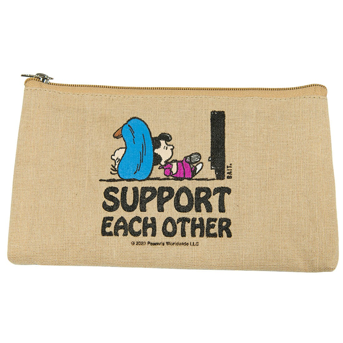 BAIT x Snoopy Support Each Other Pouch (natural)