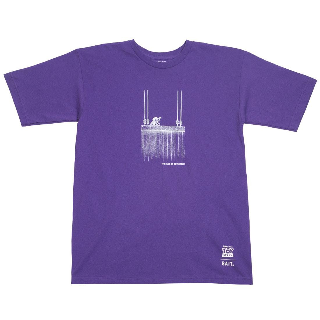 BAIT x Toy Story Men Buzz Vs Zurg Tee (purple)