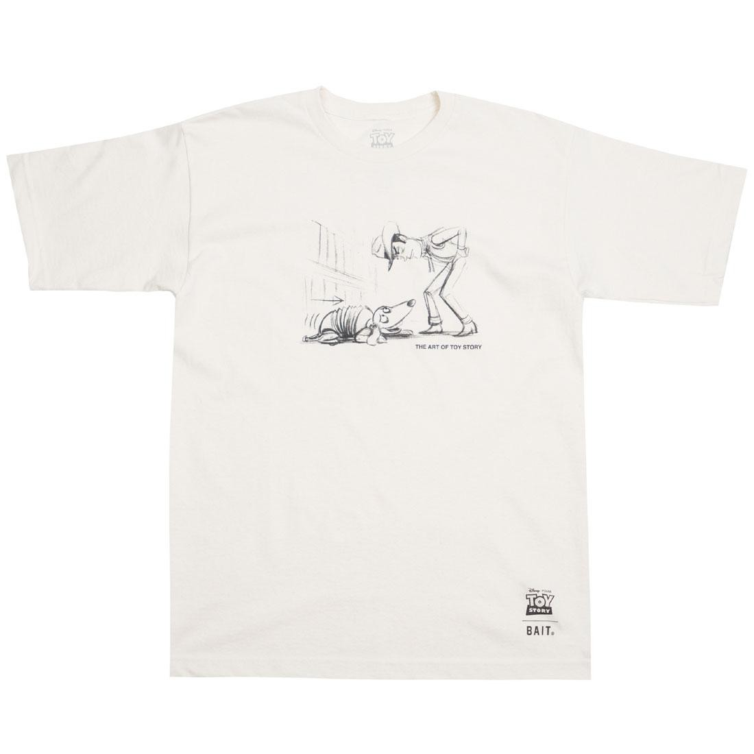 BAIT x Toy Story Men Woody And Slinky Tee (white / bone)