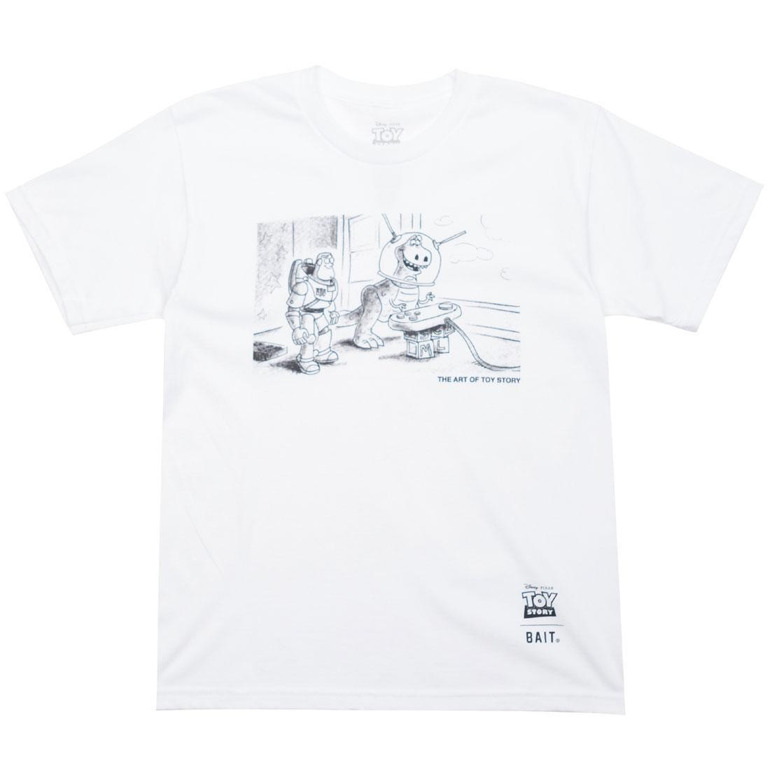BAIT x Toy Story Buzz And Rex Youth Tee (white)