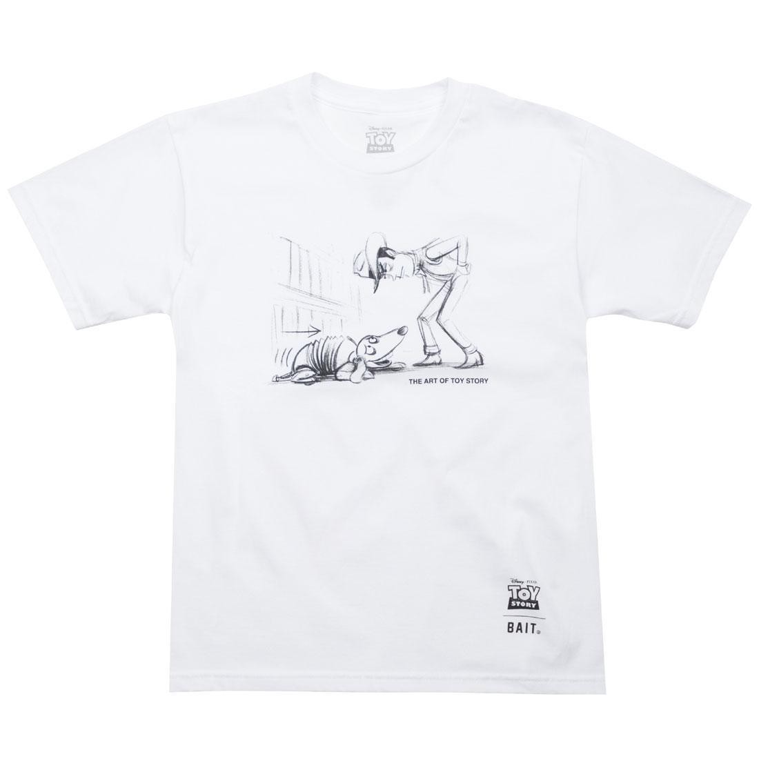 BAIT x Toy Story Woody And Slinky Youth Tee (white)