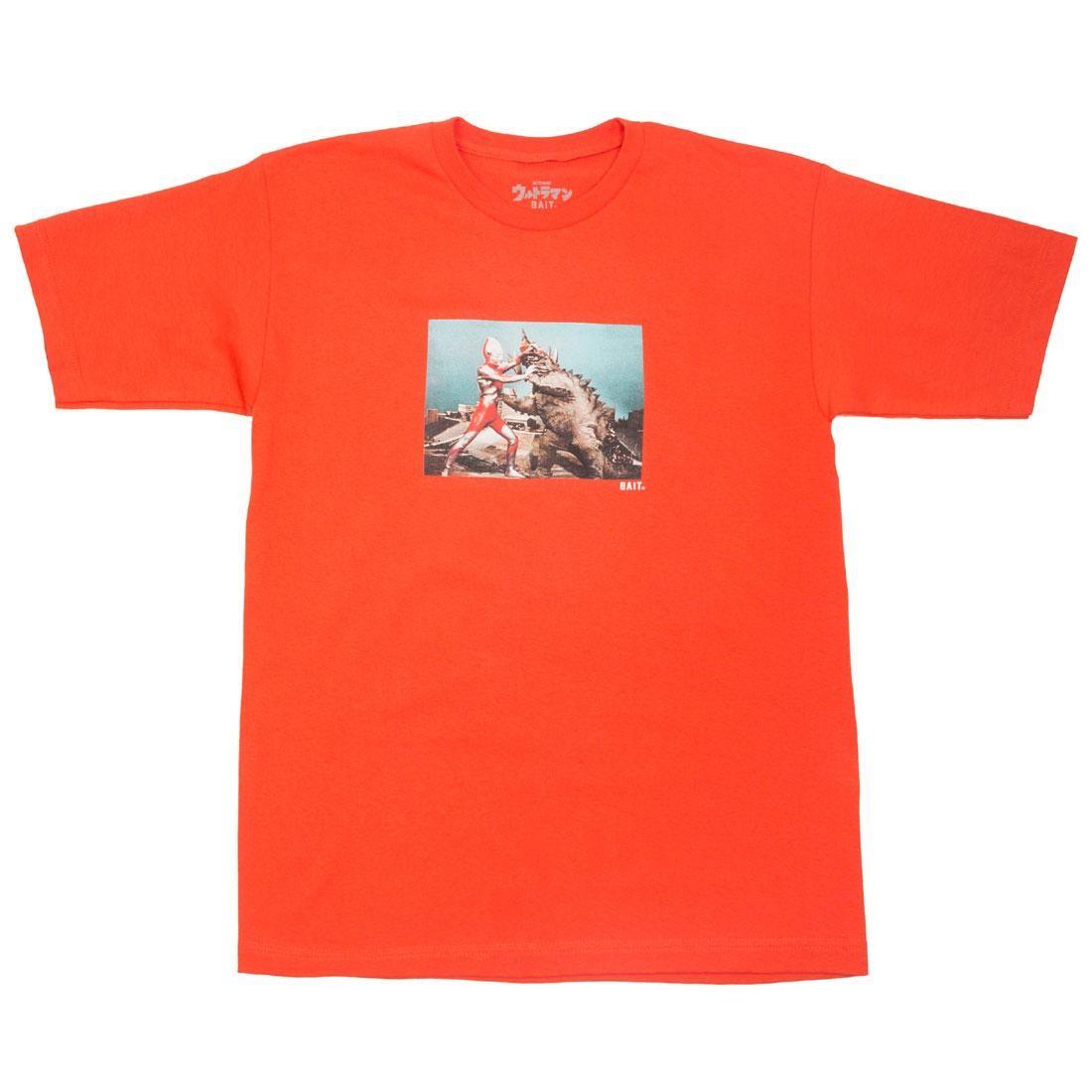 BAIT x Ultraman Men Kaiju Battle Tee (orange / texas orange)