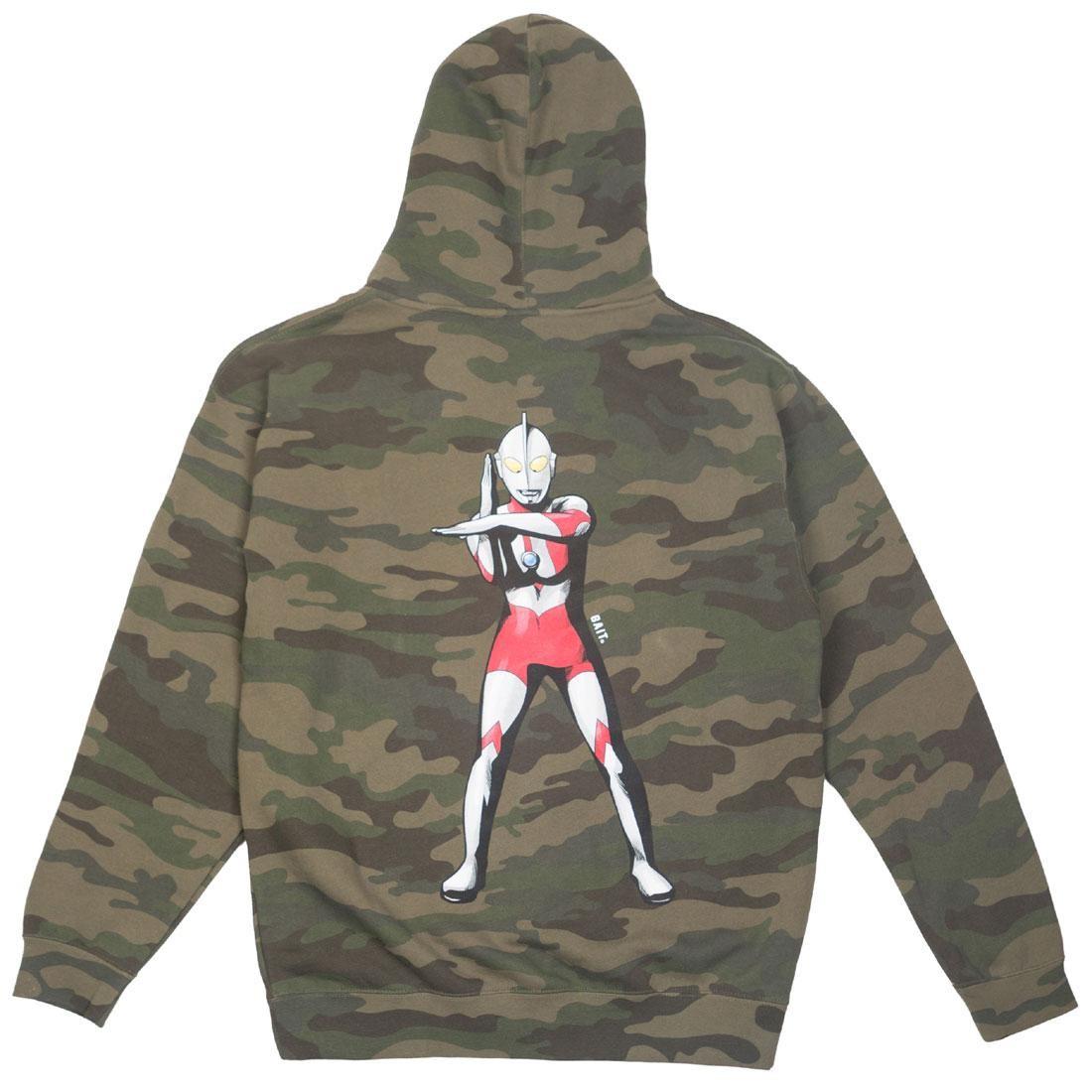 BAIT x Ultraman Men Specium Ray Zip Hoody (camo)