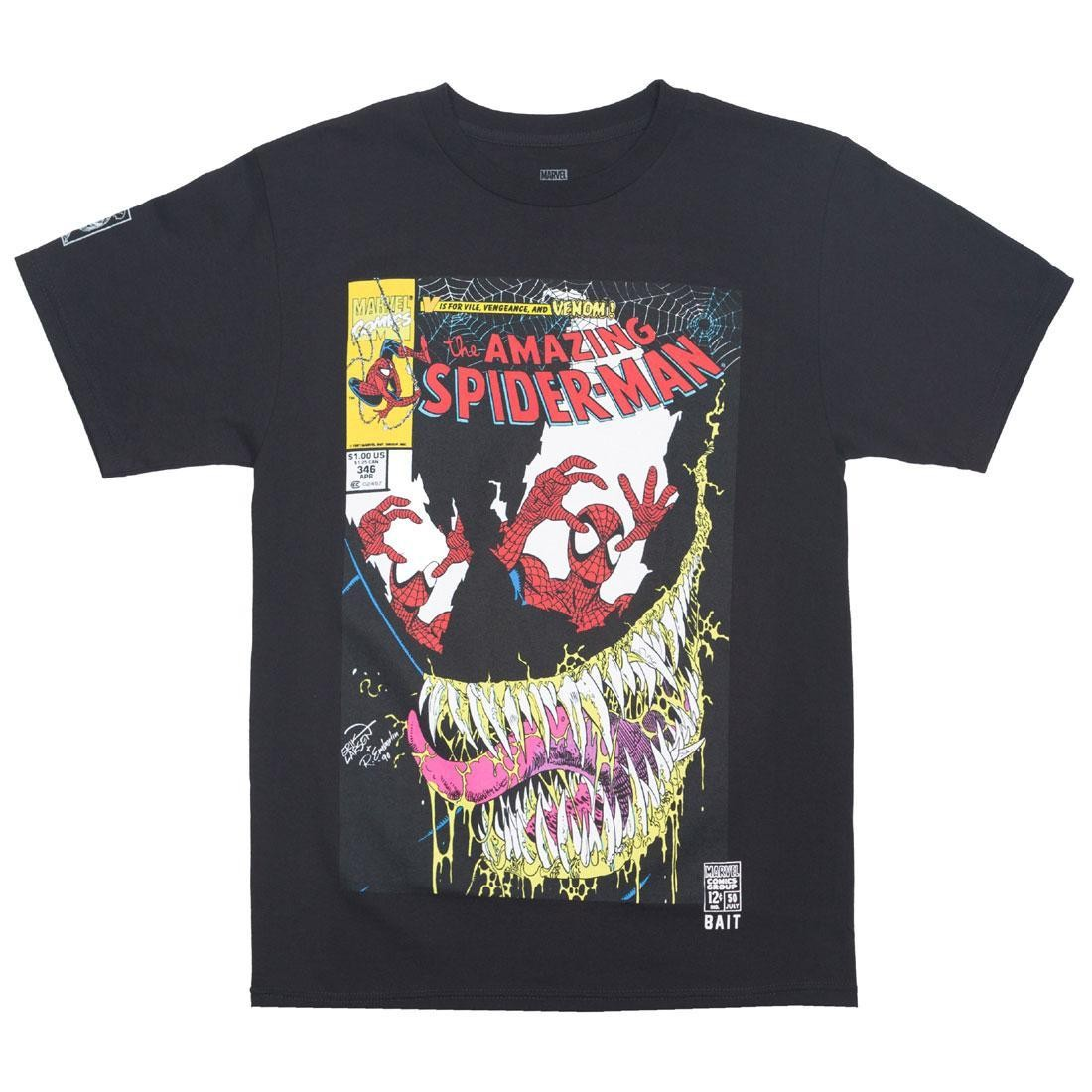 BAIT x Marvel Men Amazing Spiderman #346 Tee (black)