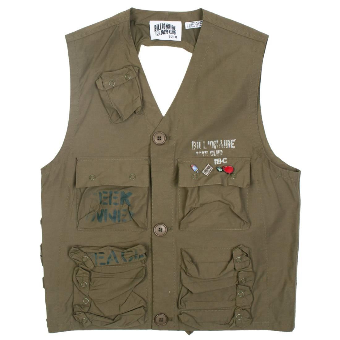 Billionaire Boys Club Men C1 Vest (green)