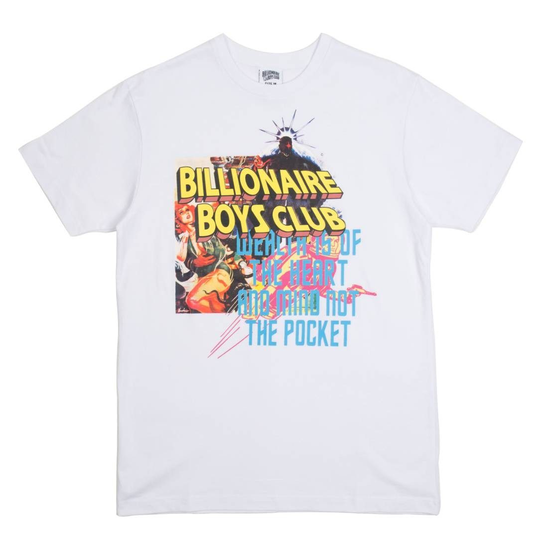 Billionaire Boys Club Men Collage Tee (white)