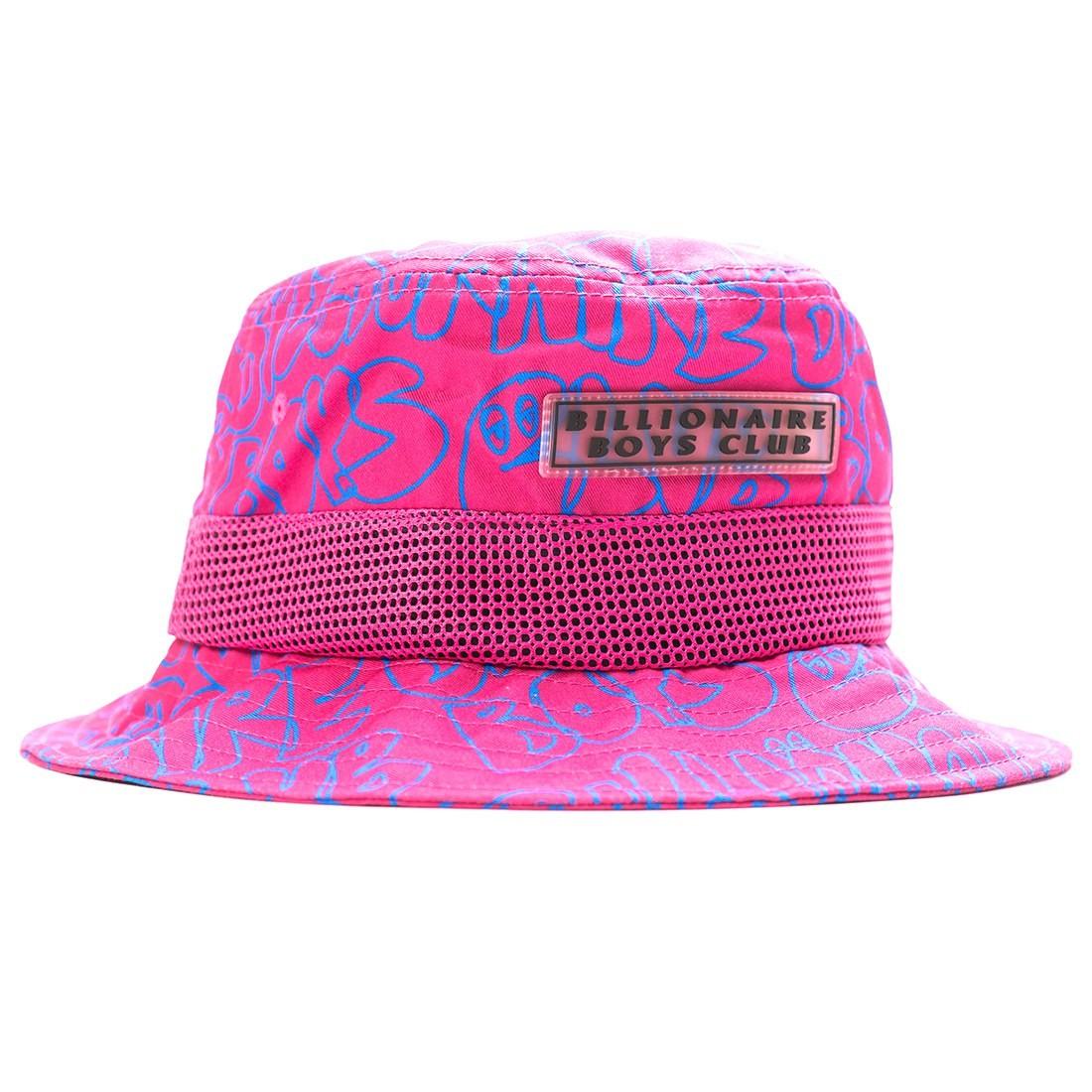 Billionaire Boys Club Get Buckets Bucket Hat (pink / carmine)