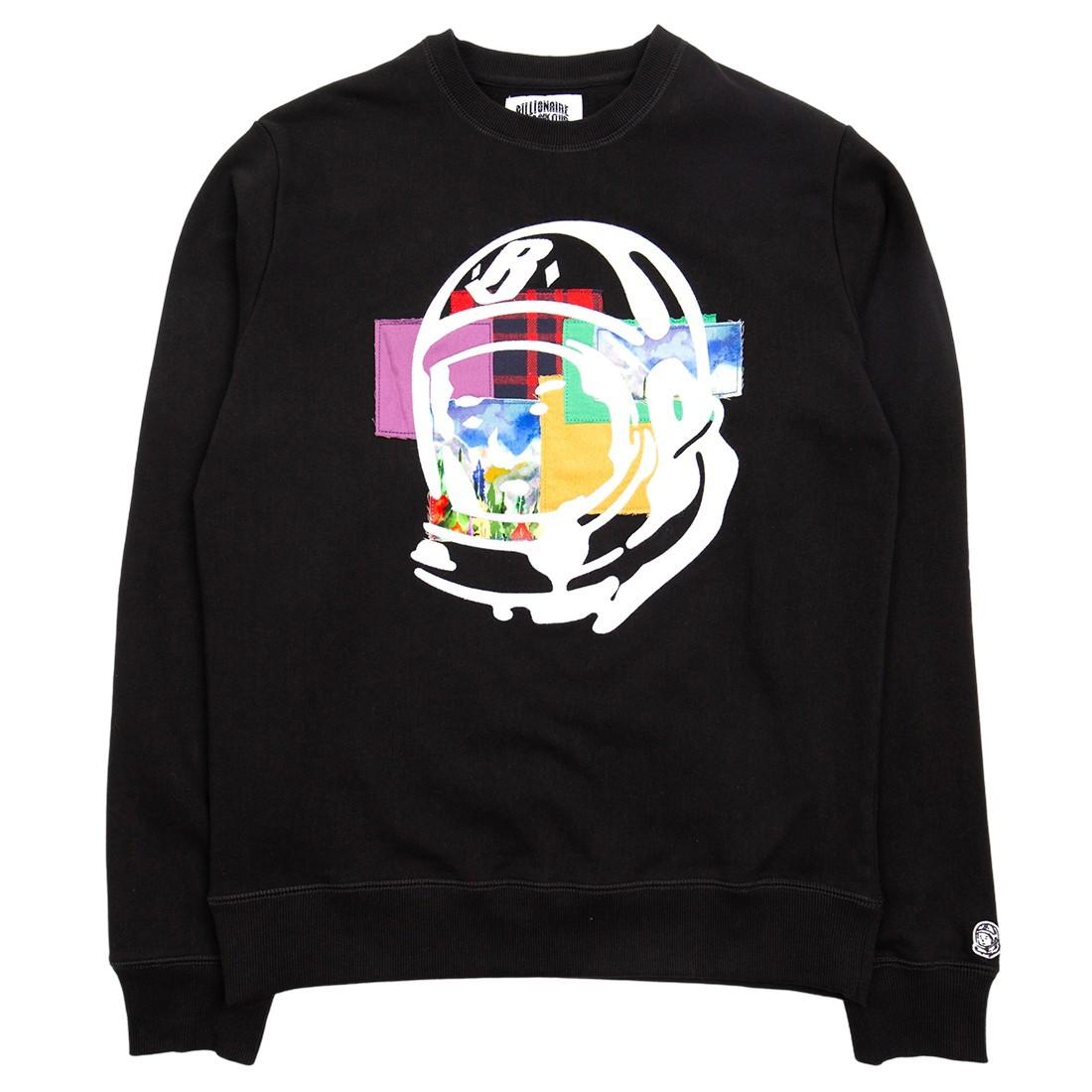 Billionaire Boys Club Men Helmet Crewneck Sweater (black)