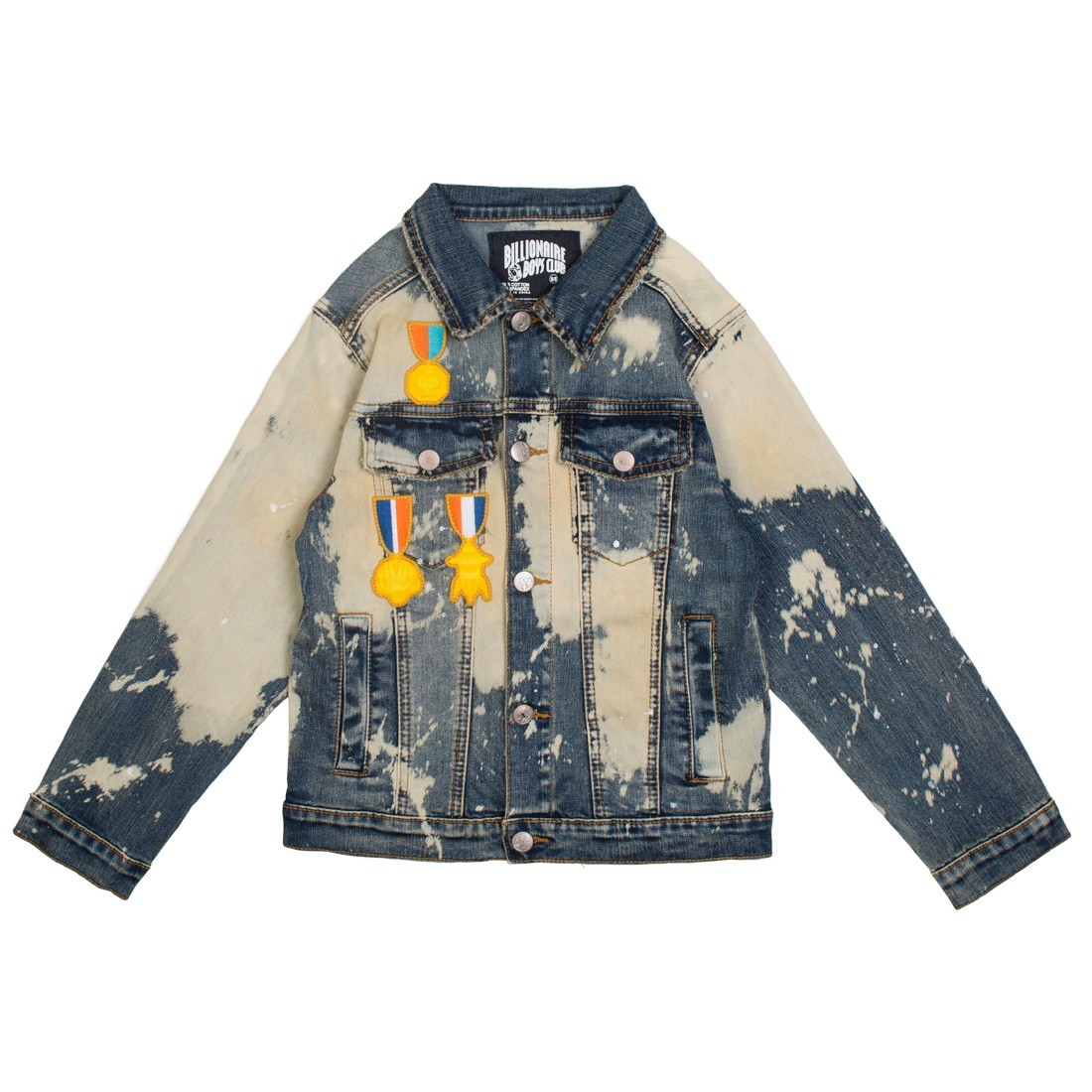Billionaire Boys Club Little Kids Tiger Scout Jacket (blue / taurus denim)