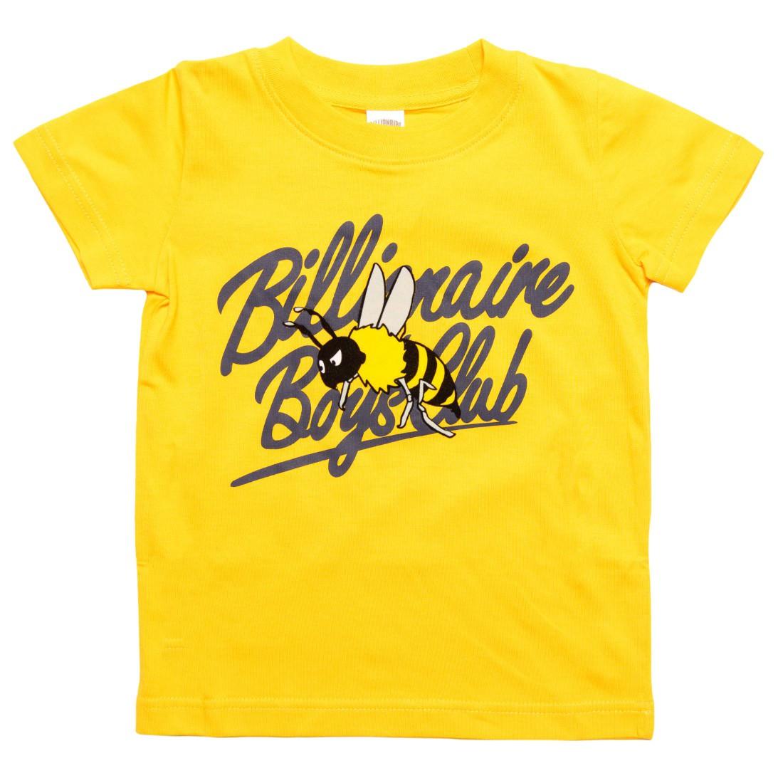 Billionaire Boys Club Little Kids Buzz Tee (yellow / citrus)