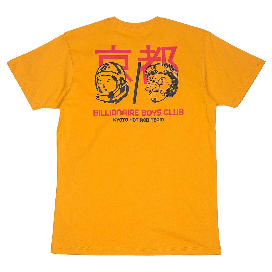 Billionaire Boys Club Men Kyoto Team Tee (yellow / sunflower)