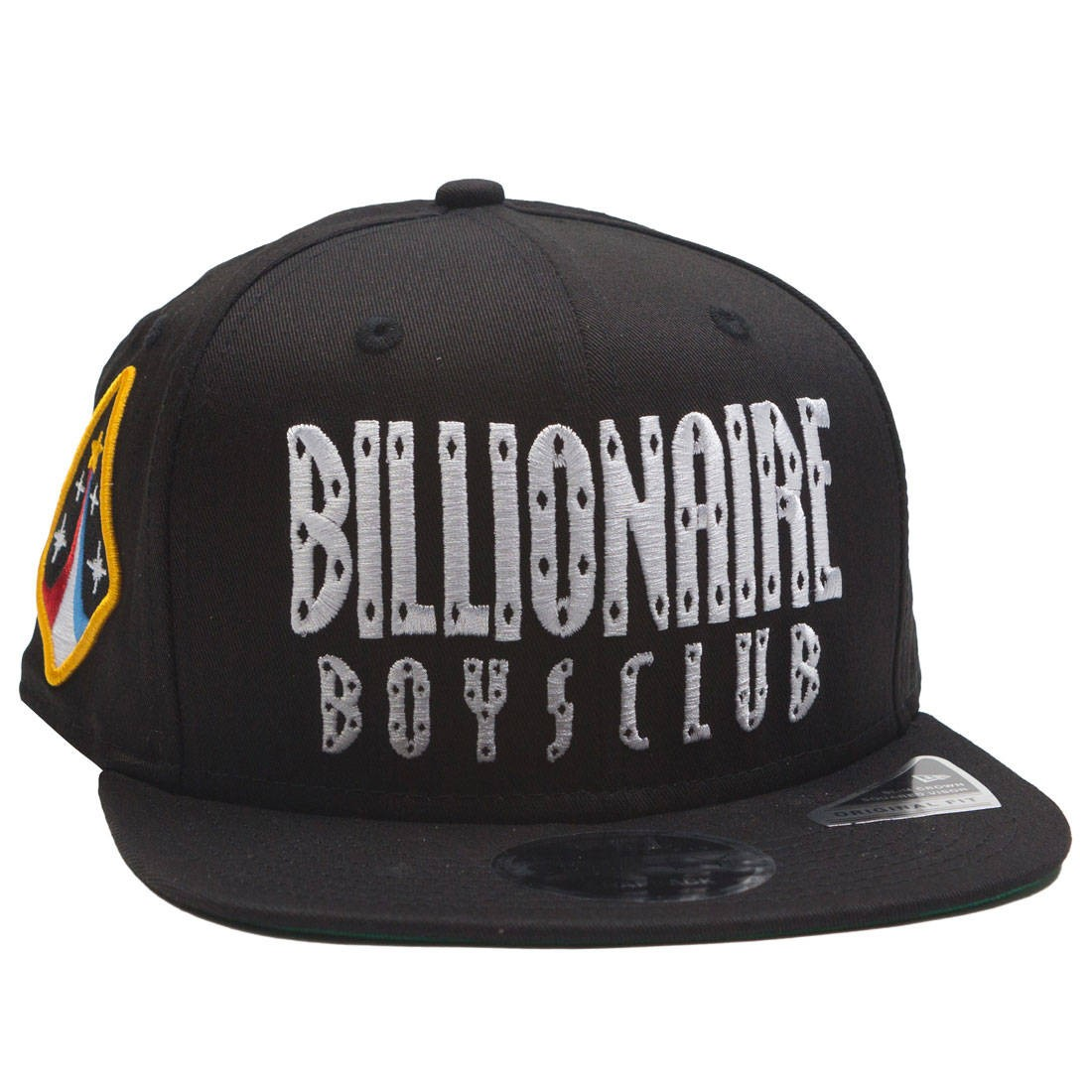 Billionaire Boys Club Straight Snapback Cap (black)