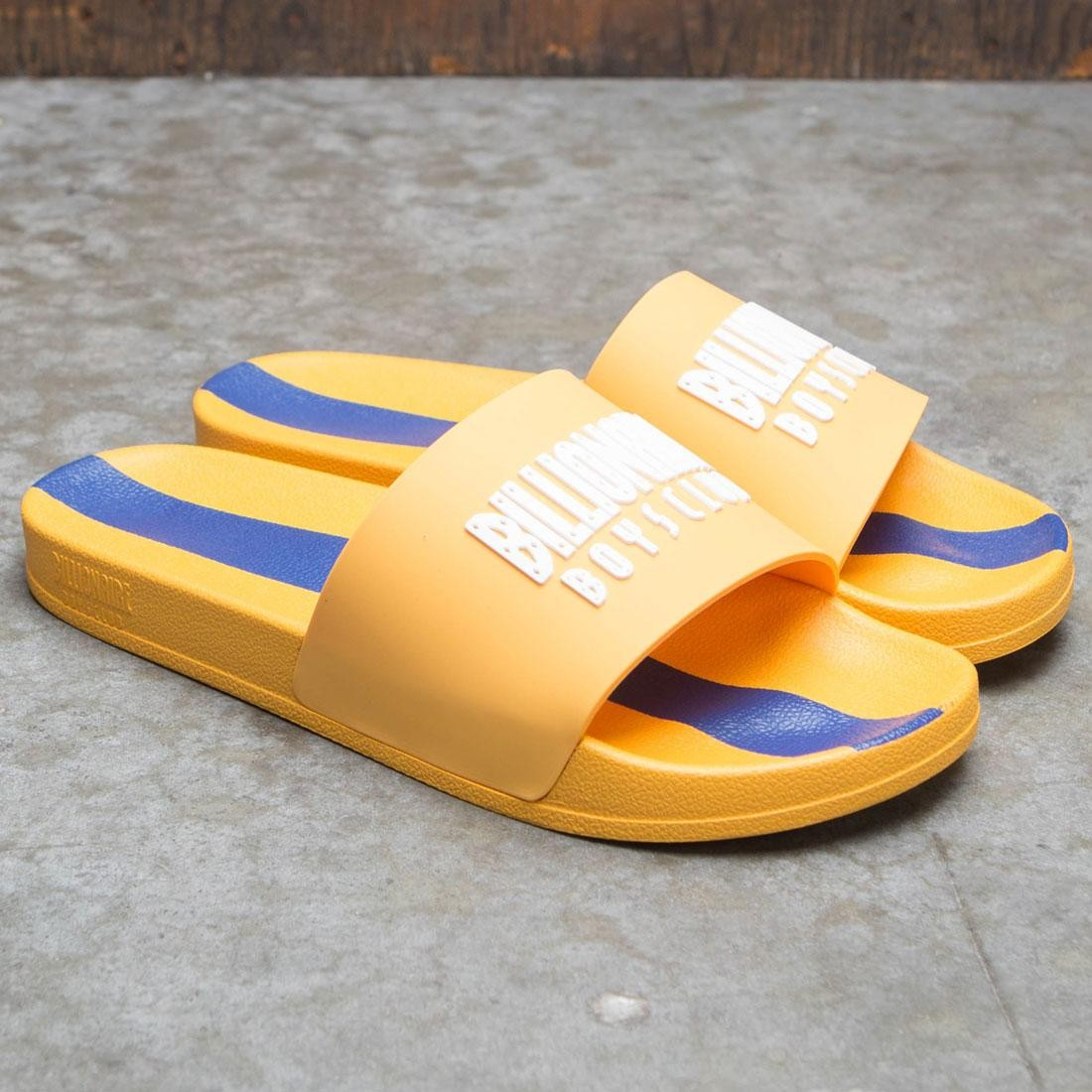 Billionaire Boys Club Men BB Slides (yellow / beeswax)