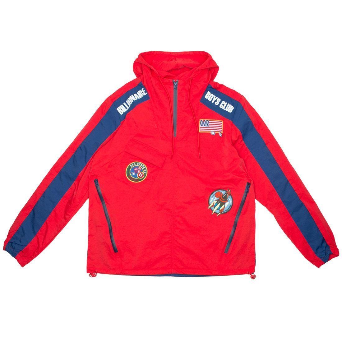 Billionaire Boys Club Men BB Tech Jacket (red)