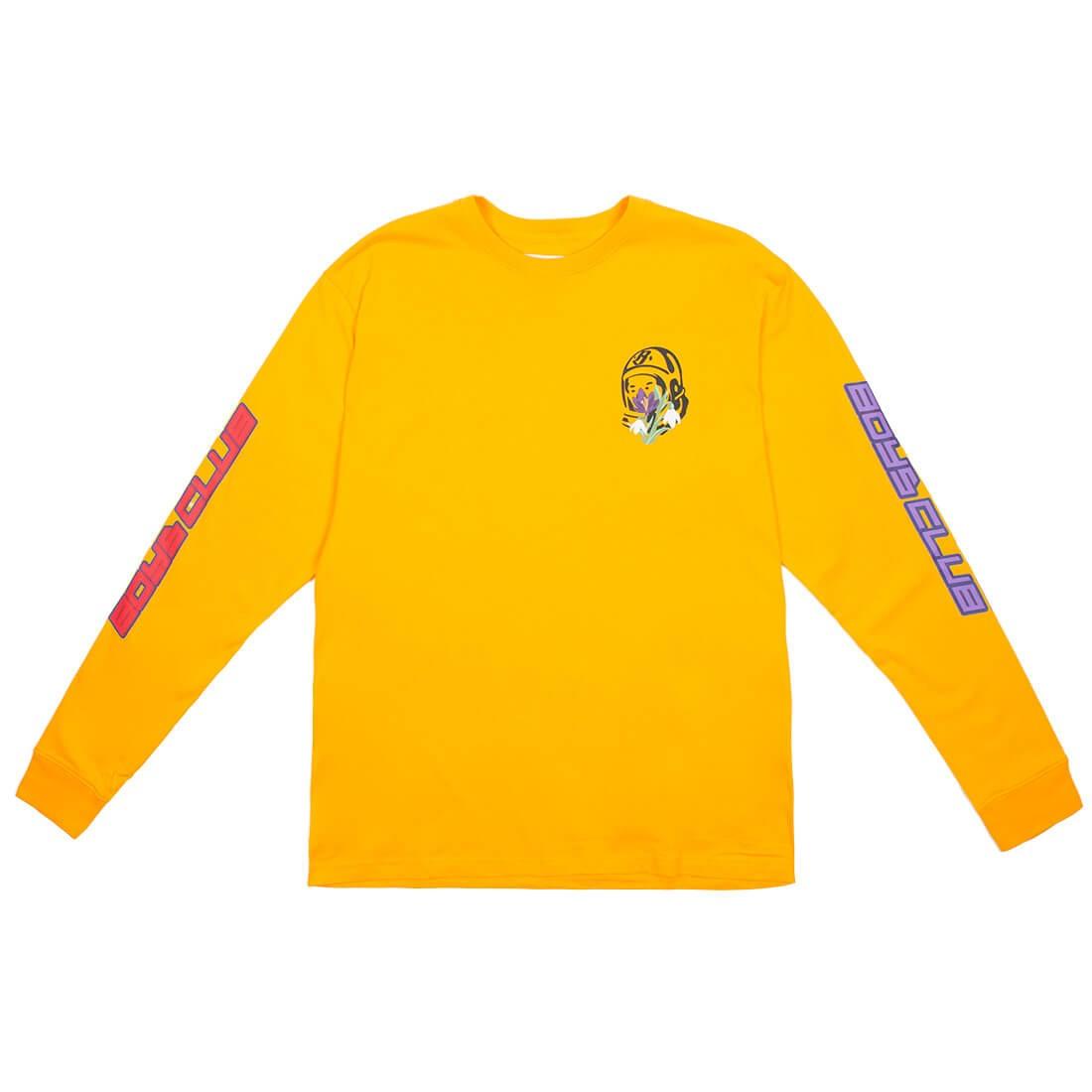 Billionaire Boys Club Men Island Long Sleeve Tee (yellow)