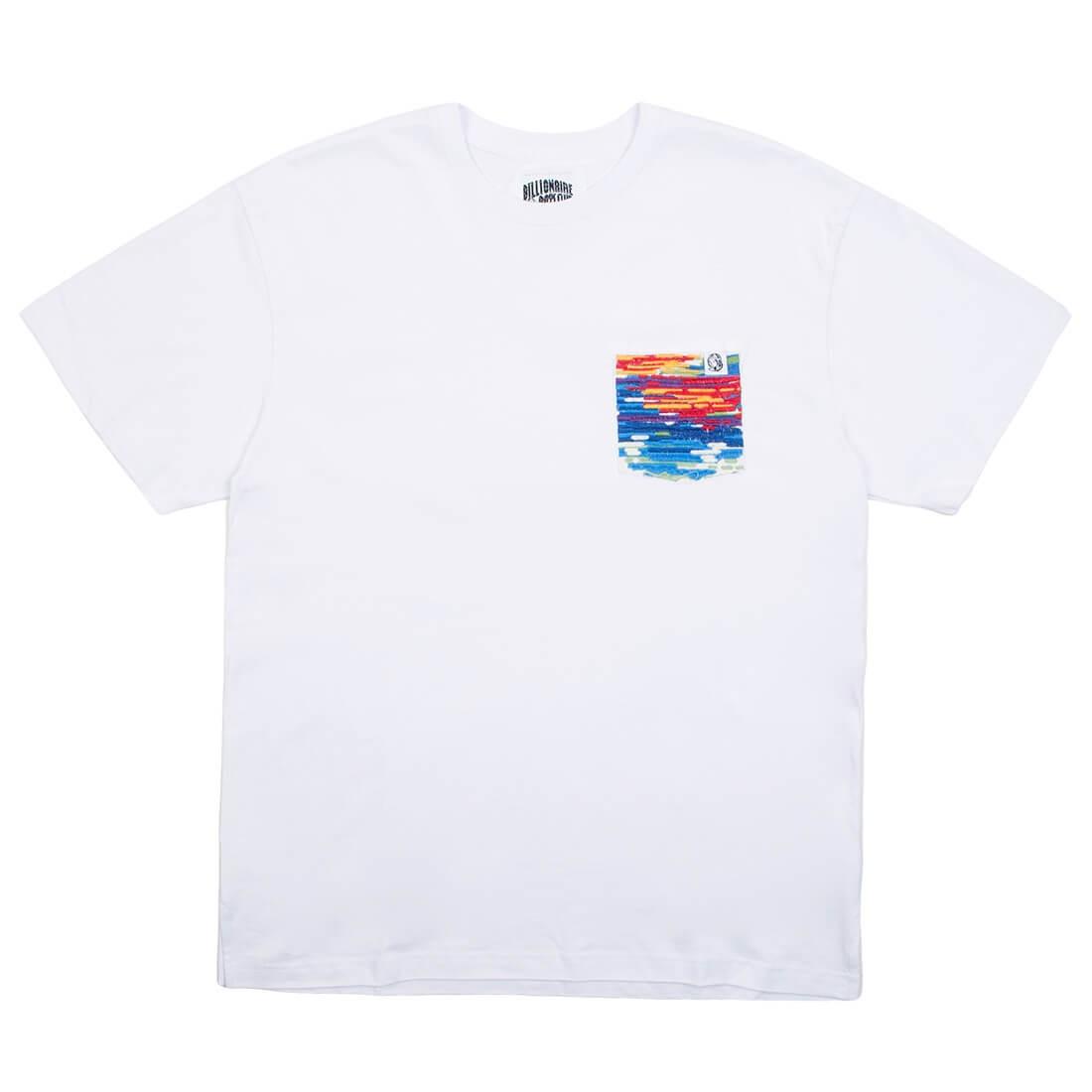 Billionaire Boys Club Men Pocket Knit Tee (white)