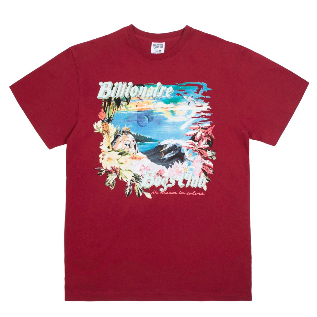 Billionaire Boys Club Men Island Knit Tee (red)