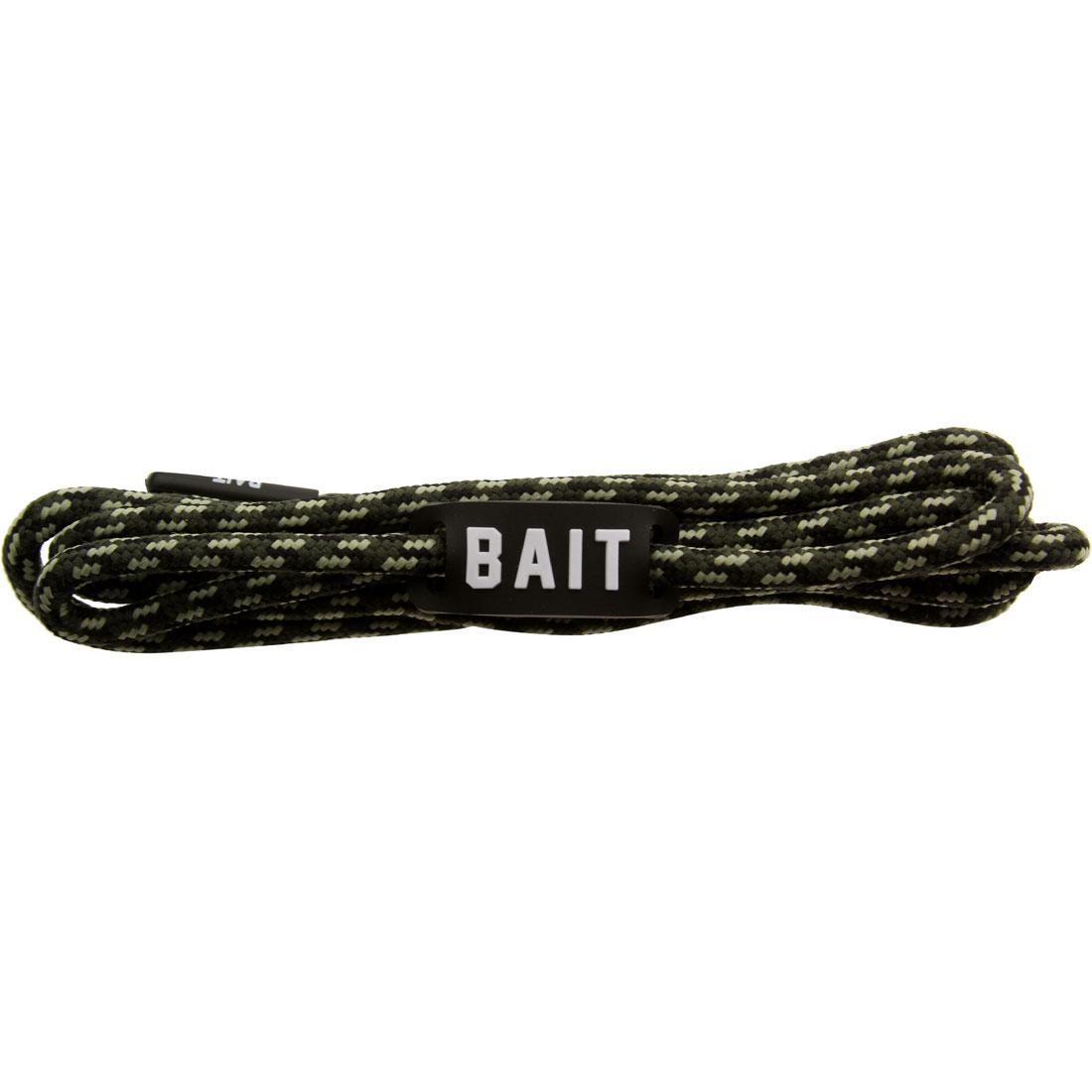 BAIT Vanquish Premium Rope Shoelaces (camo)
