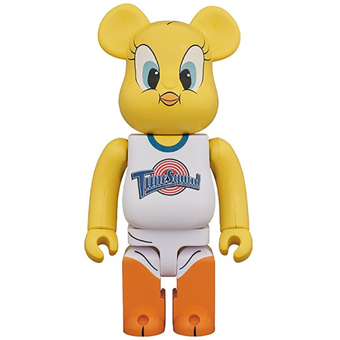 PREORDER - Medicom x Space Jam Tweety 400% Bearbrick Figure (yellow)