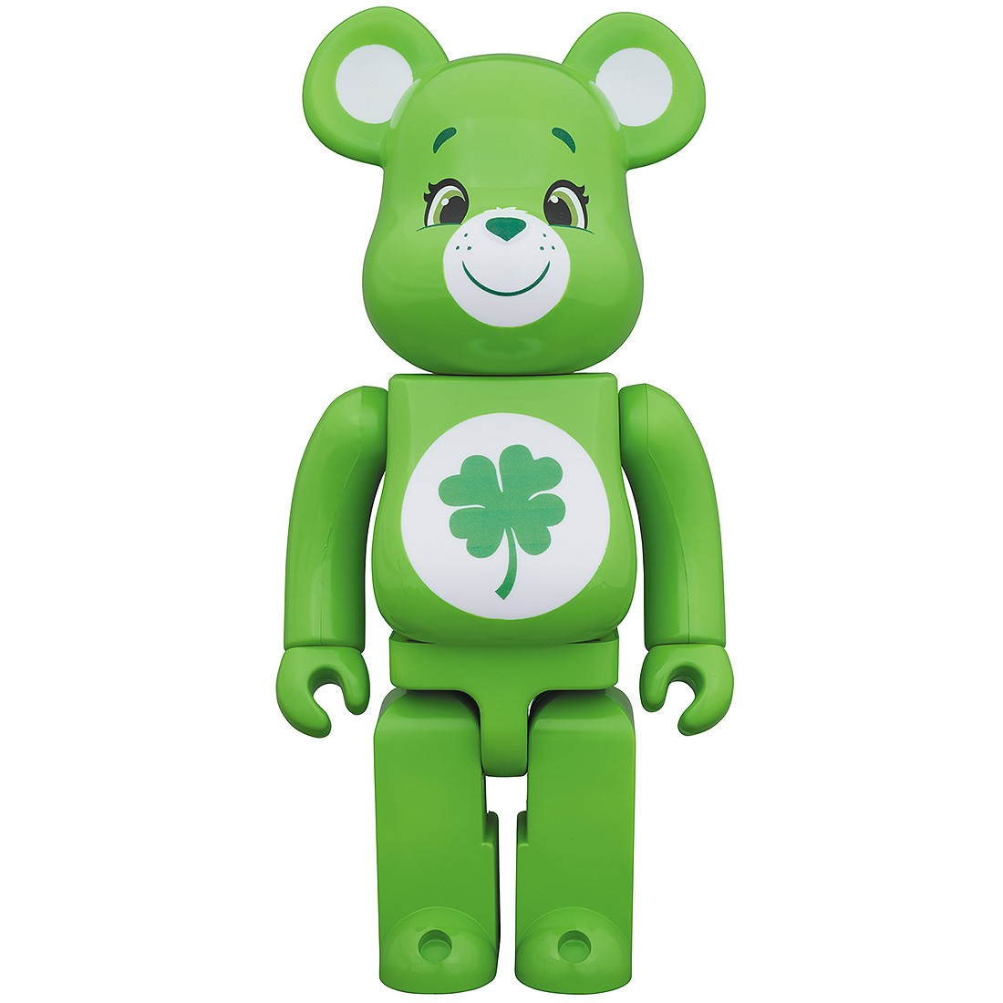 PREORDER - Medicom Care Bears Good Luck Bear 400% Bearbrick Figure (green)