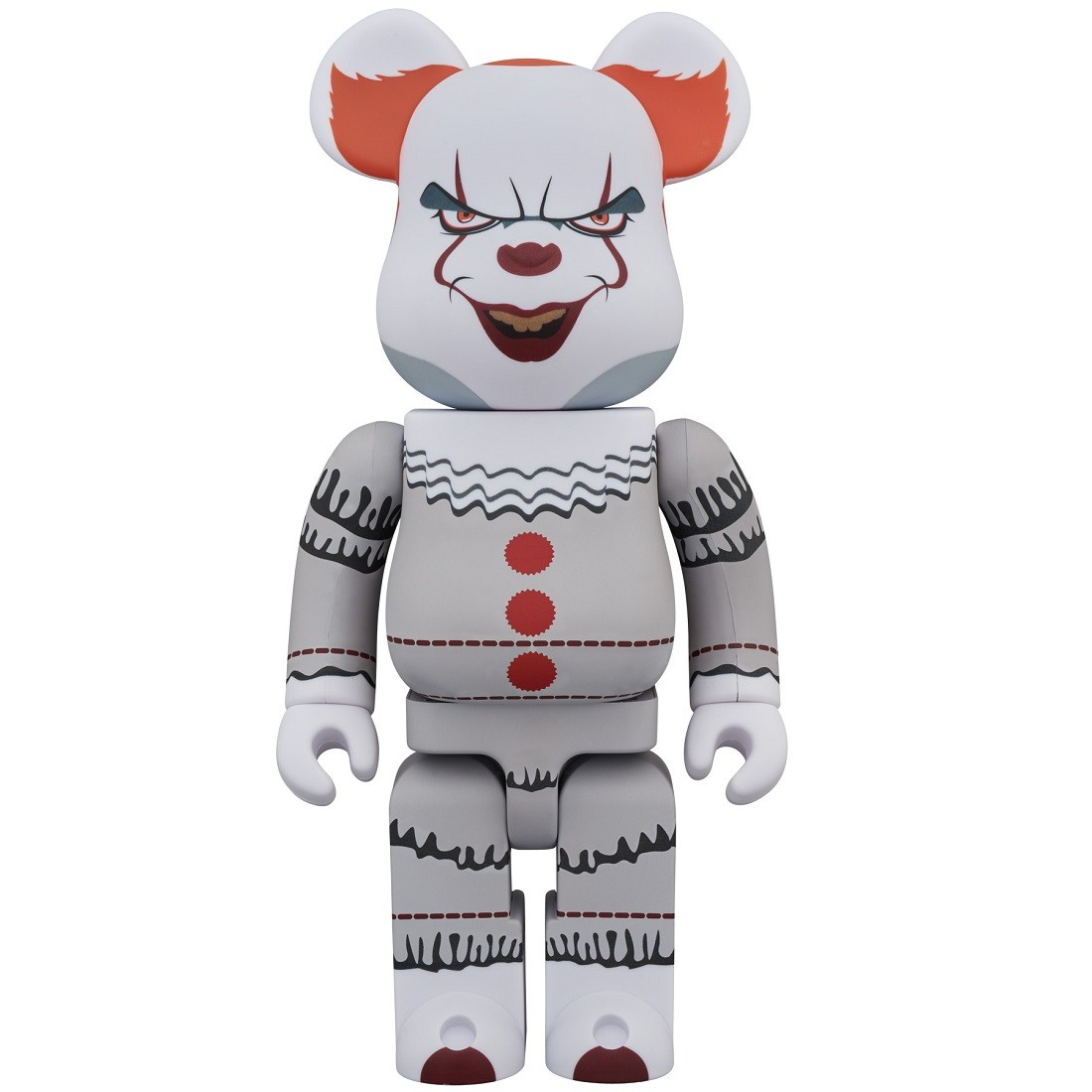 PREORDER - Medicom It Pennywise 1000% Bearbrick Figure (white)