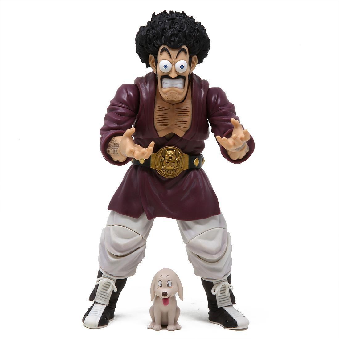 Bandai S.H.Figuarts Dragon Ball Z Mr. Satan Figure (burgundy)