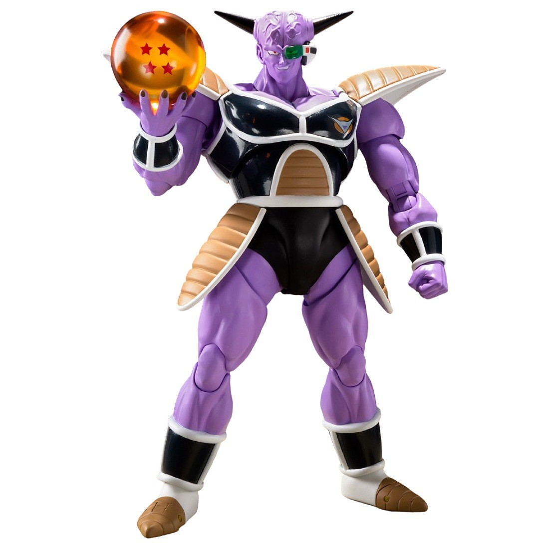 Bandai S.H.Figuarts Dragon Ball Captain Ginyu Figure (purple)