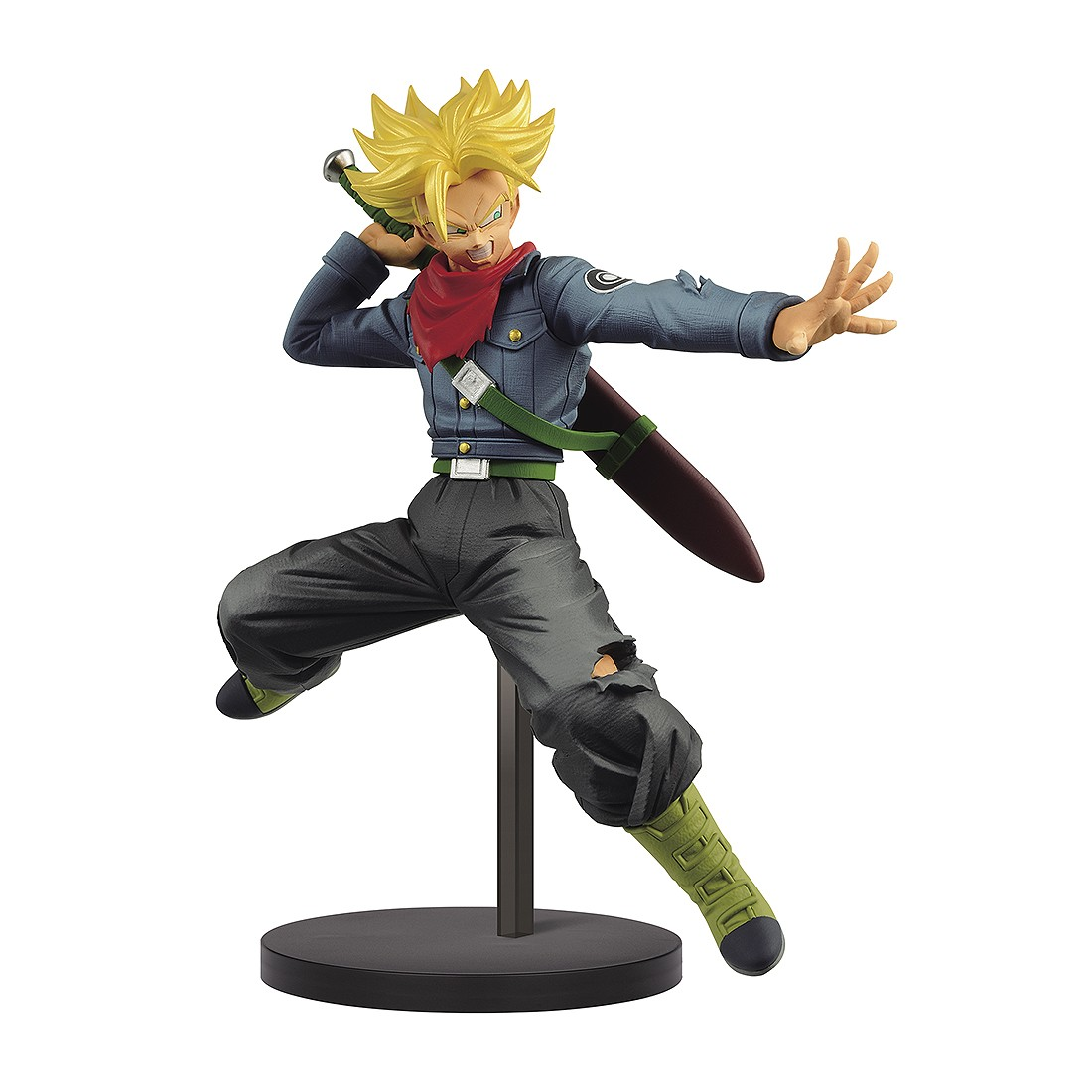 PREORDER - Banpresto Dragon Ball Super Chosenshi Retsuden II Vol.2 Super Saiyan Future Trunks Figure (gray)