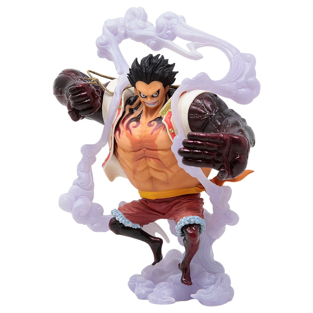 Banpresto One Piece King Of Artist The Monkey D Luffy Gear 4 Special Ver A Figure White Of course gear 4luffy is stronger than night mare luffy because gear4luffy has armament haki and king's haki. bait