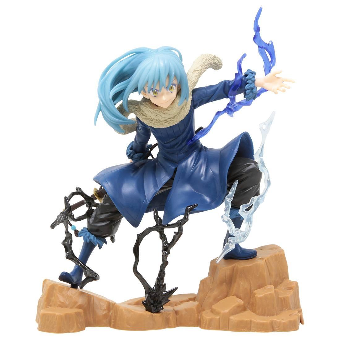 Banpresto That Time I Got Reincarnated As A Slime ESPRESTO est Tempest Effect And Motions Rimuru Tempest Figure (blue)