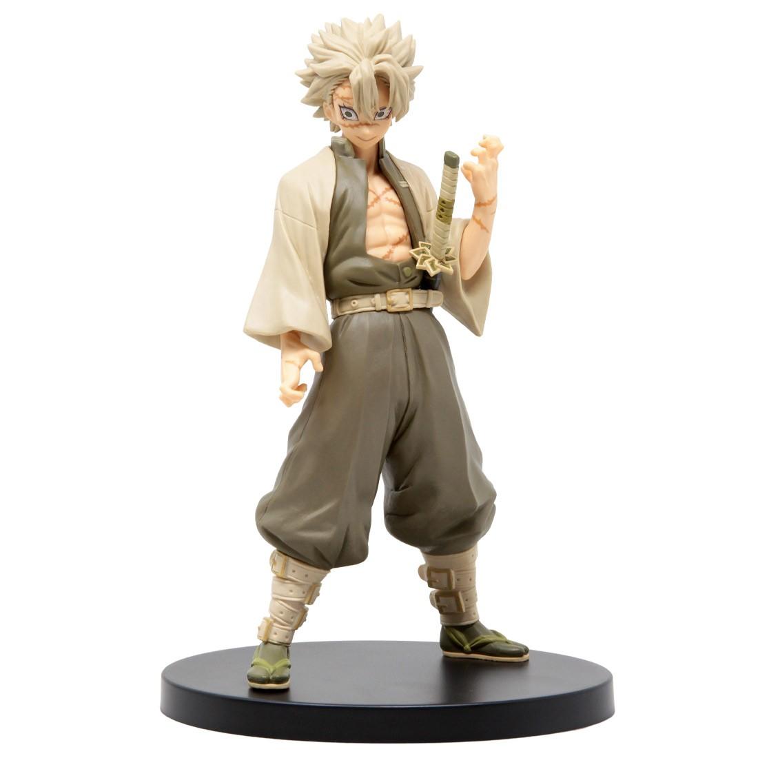 Banpresto Demon Slayer Kimetsu no Yaiba Figure Vol. 15 Sanemi Shinazugawa Figure (olive)