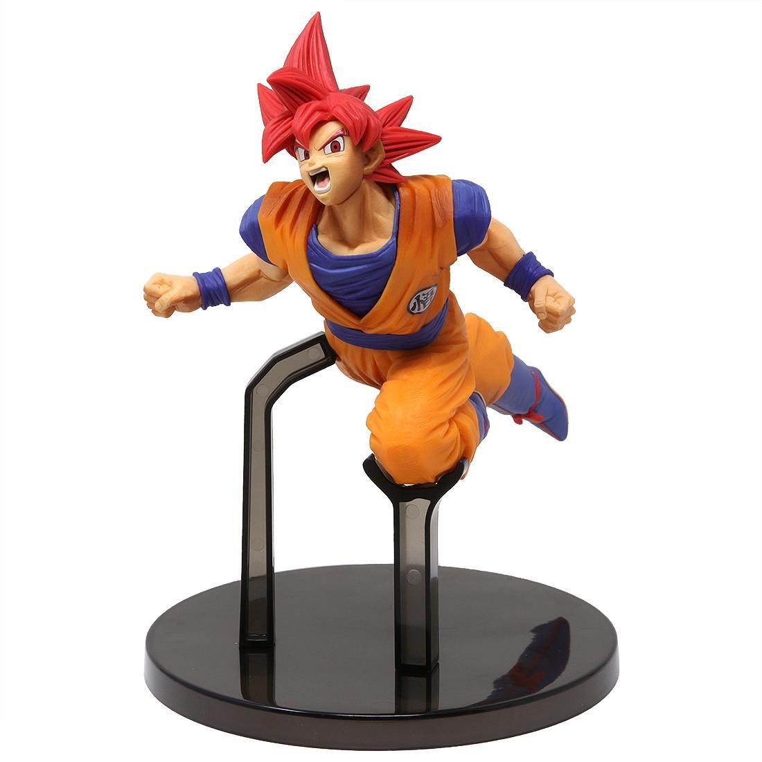 Banpresto Dragon Ball Super Goku Fes!! Vol 9 - Super Saiyan God Goku Figure (orange)