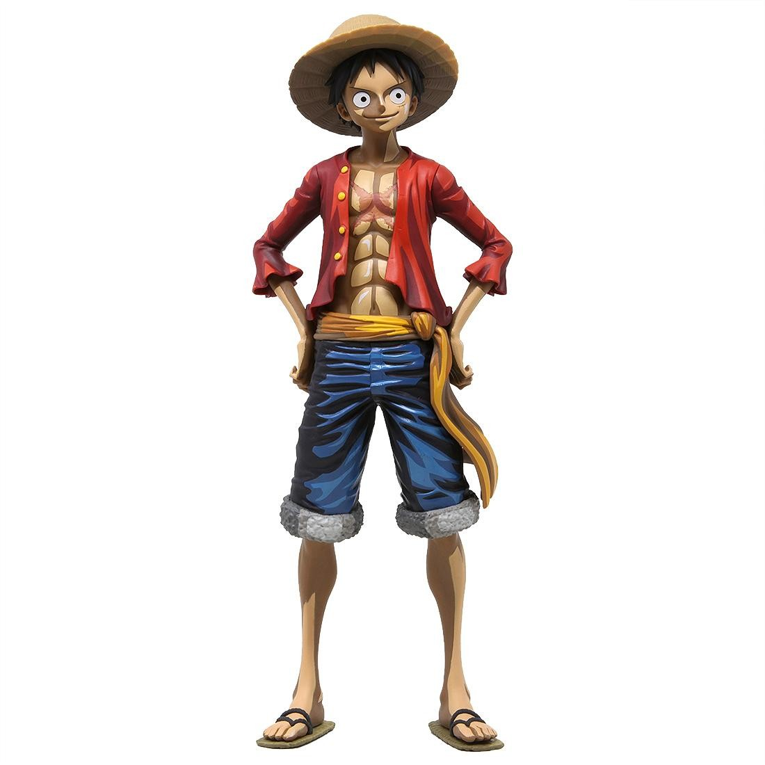 Banpresto One Piece Grandista Manga Dimensions Monkey D Luffy Figure Red