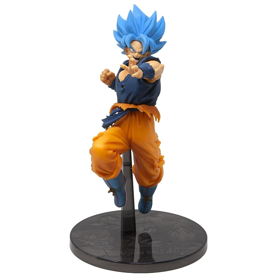 Banpresto Dragon Ball Super The Movie Ultimate Soldiers The Movie Vol 2 Super Saiyan Blue Goku Figure (blue)
