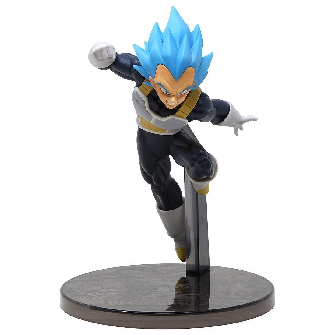 Banpresto Dragon Ball Super The Movie Ultimate Soldiers The Movie Vol 3 Super Saiyan Blue Vegeta Figure (blue)