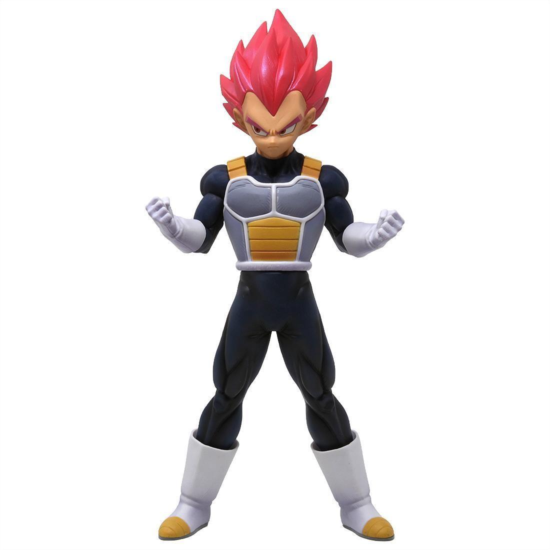 Banpresto Dragon Ball Super the Movie Chokoku Buyuden Super Saiyan God Vegeta Figure (pink)