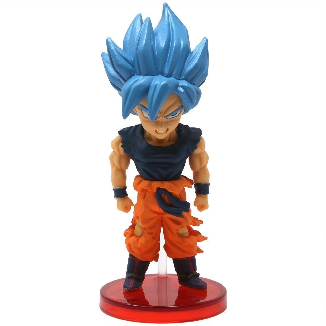 Banpresto Dragon Ball Super Movie World Collectable Figure Vol. 2 - 07 Super Saiyan Blue Goku (blue)