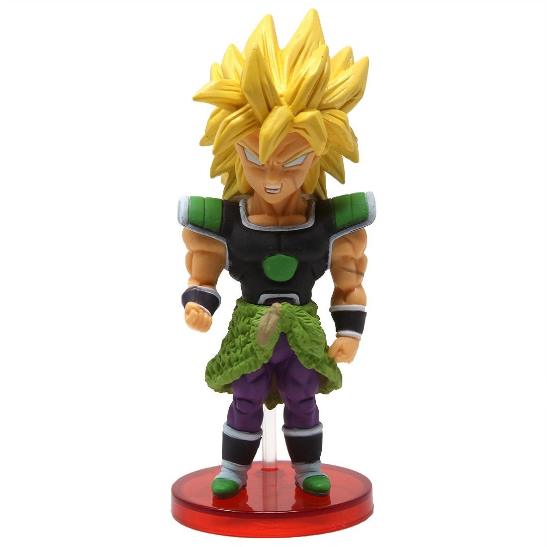 Banpresto Dragon Ball Super Broly Movie World Collectable Figure Vol 2 - 08 Super Saiyan Broly (green)