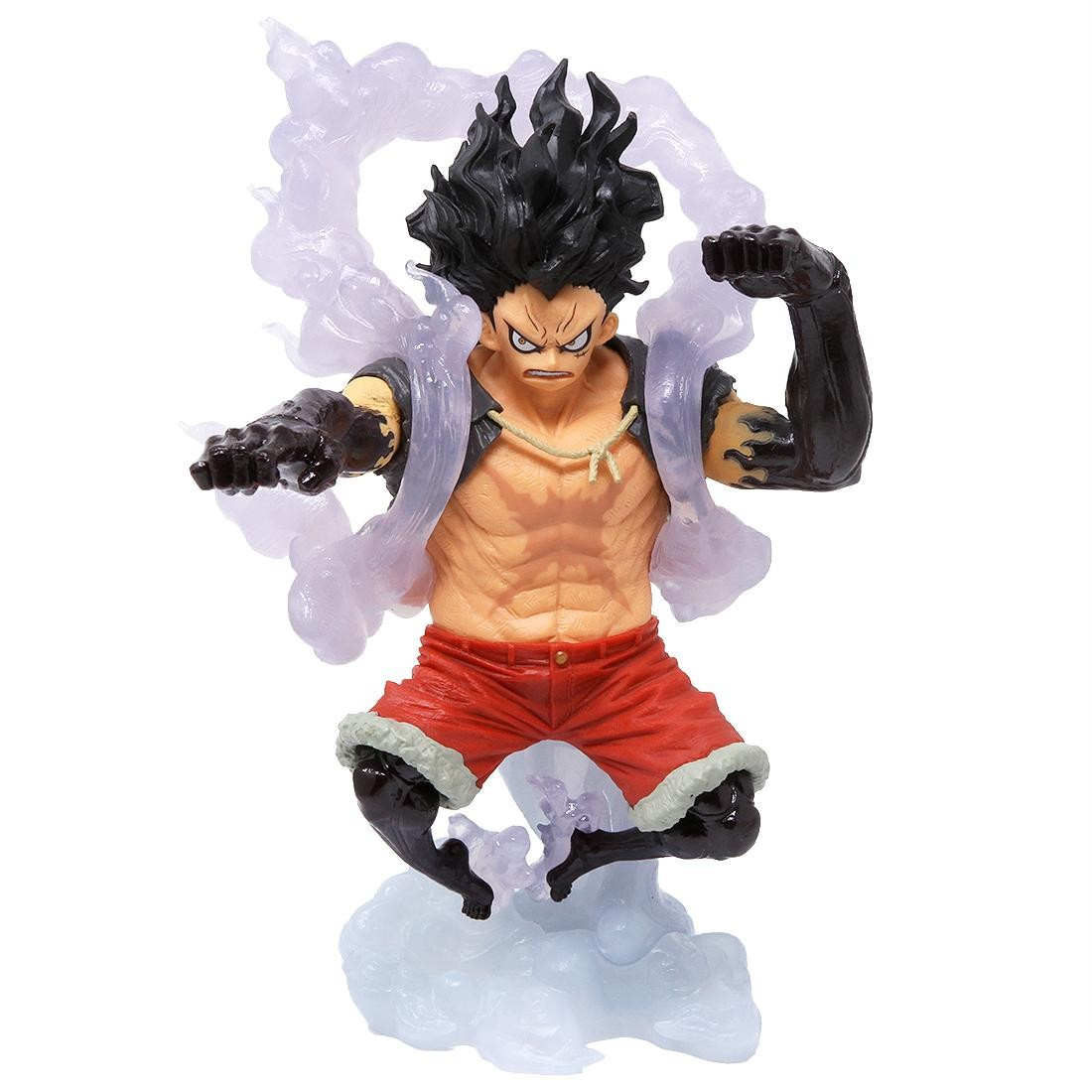 ONE PIECE Monkey D Luffy King of Artist The Snakeman Rufy Rubber Figure Anime