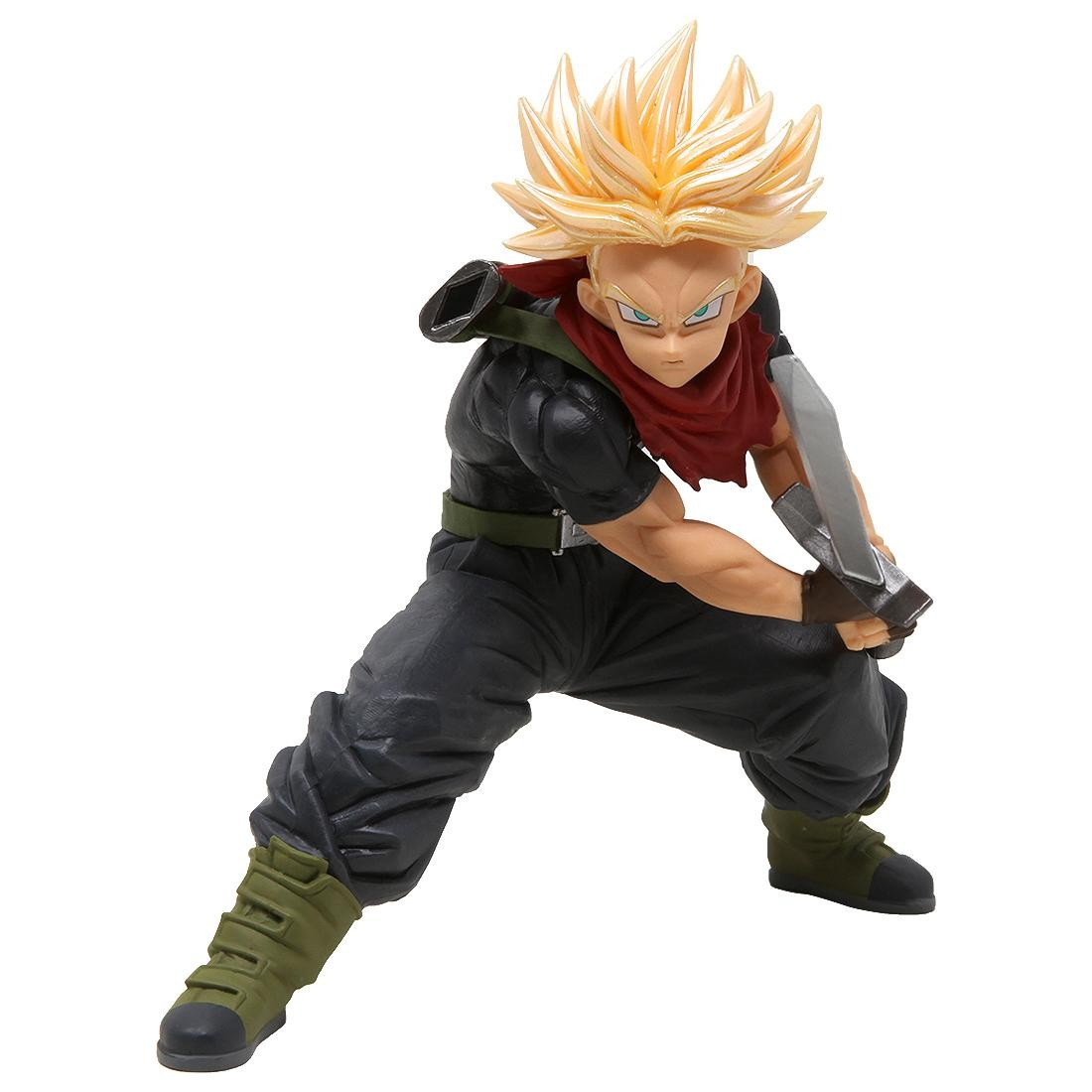 Banpresto Super Dragon Ball Heroes Transcendence Art Vol. 5 Super Saiyan Trunks Figure (black)