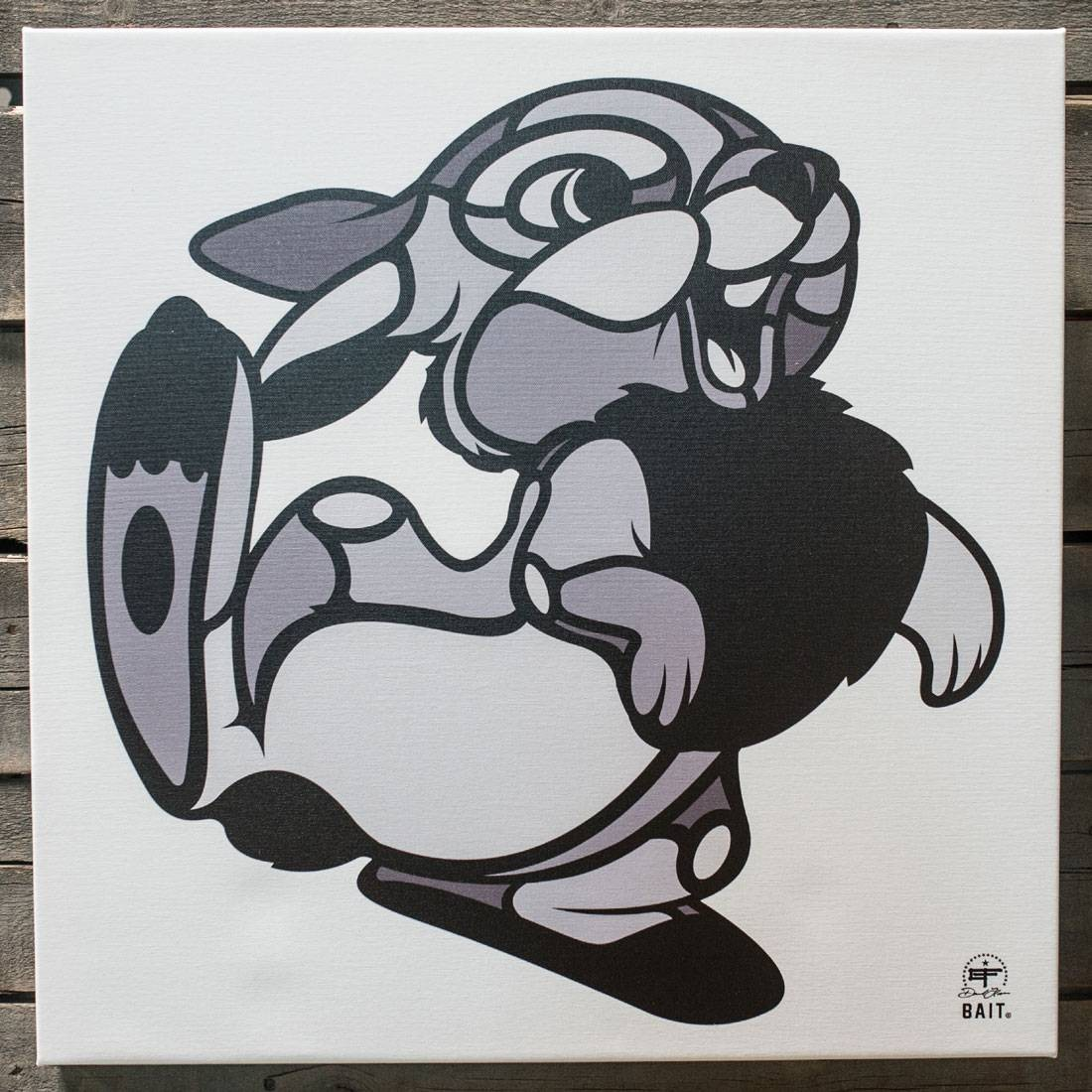 BAIT x David Flores 36 Inch Canvas - Thumper (gray)