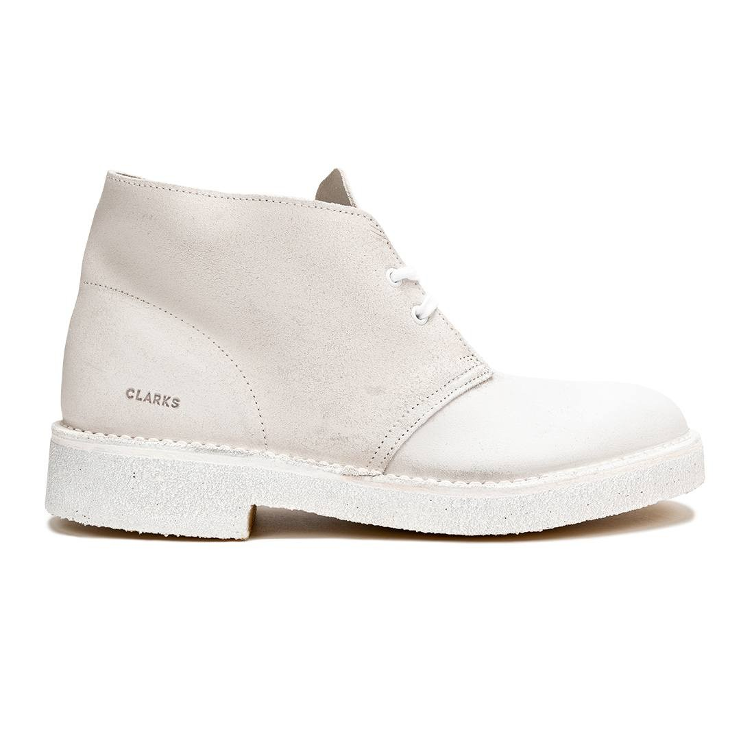 Clarks Men Desert Boot 221 (white / white)