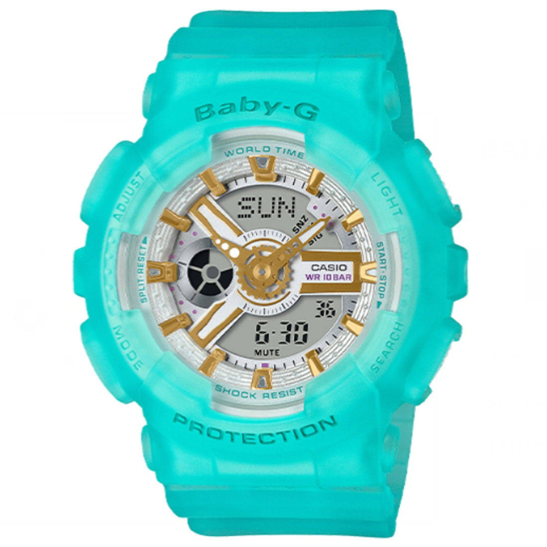 Baby G BA110 Watch (blue / teal)