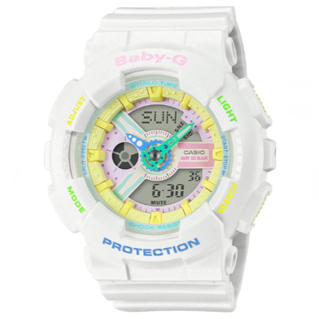 G-Shock Watches Baby G BA110TM-7A Watch (white)