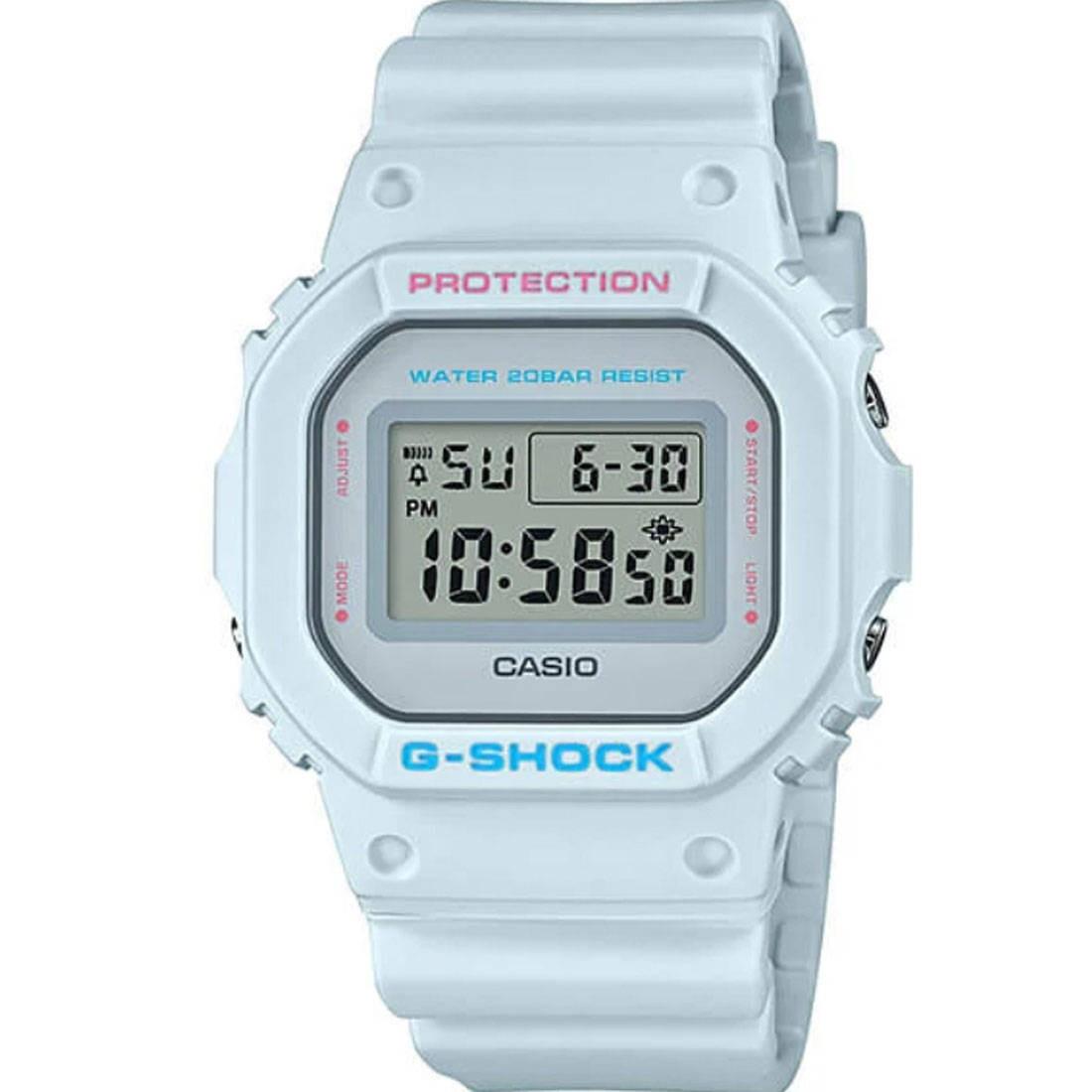 G-Shock Watches DW5600SC Watch (blue / baby blue)