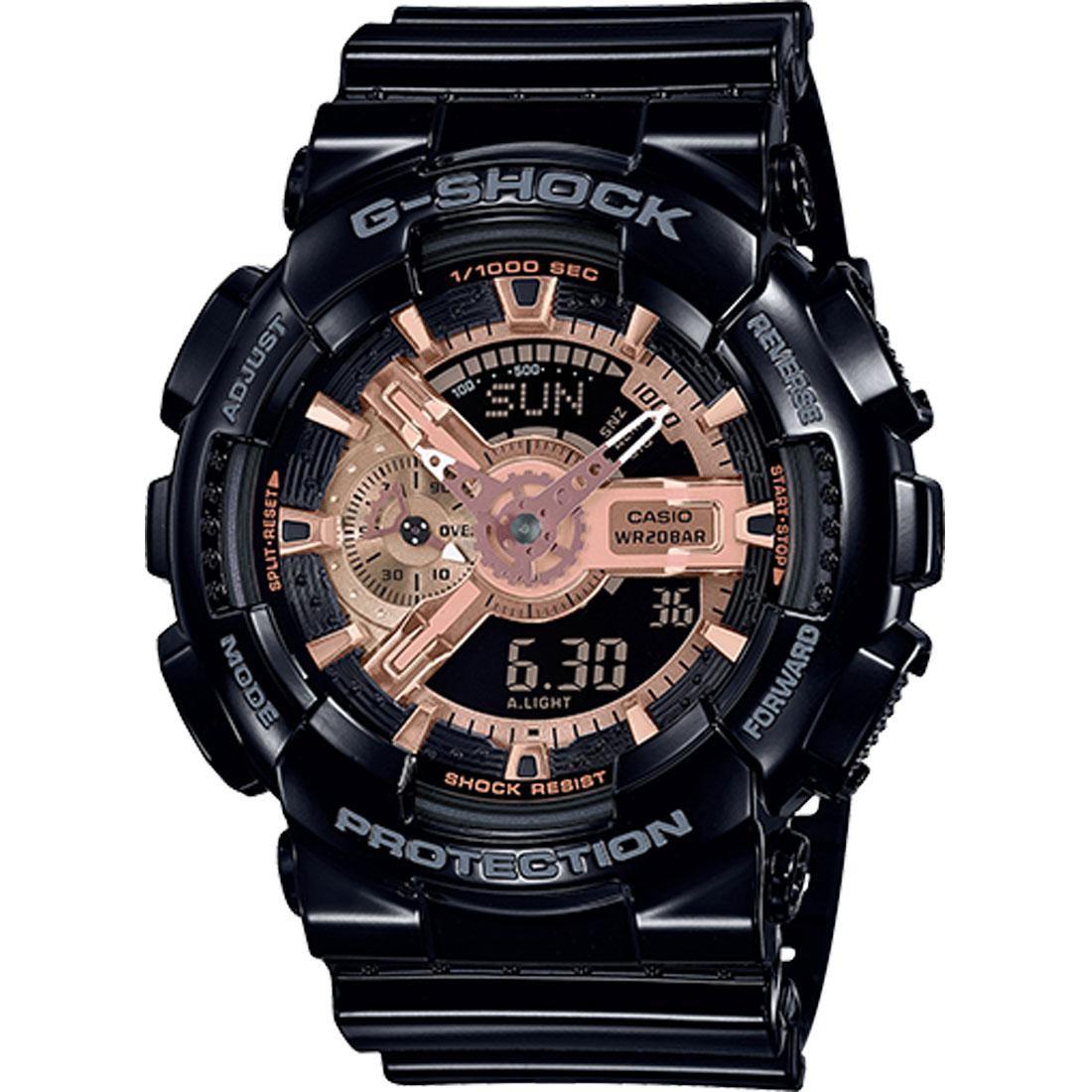 G-Shock Watches GA110MMC Watch (black / gold)