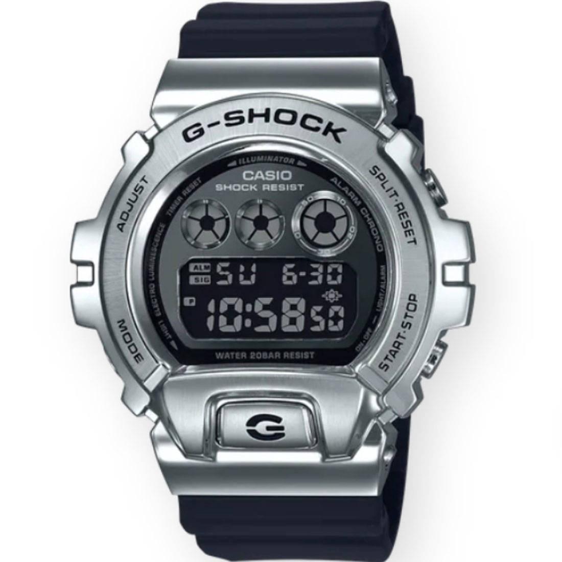 G-Shock Watches GM6900-1 Watch (black / silver)