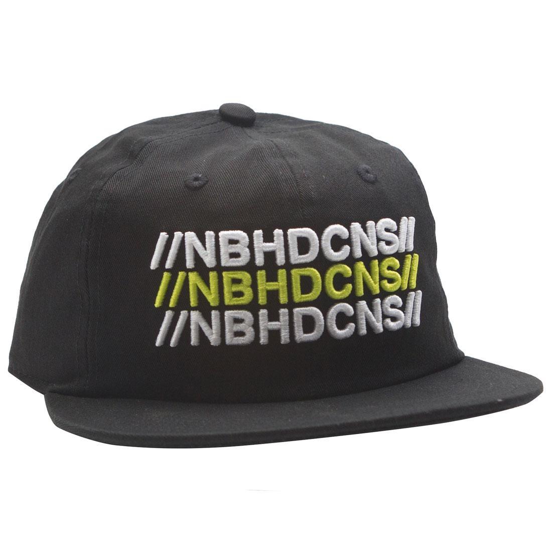 Converse x Neighborhood 6 Panel Hat (black)